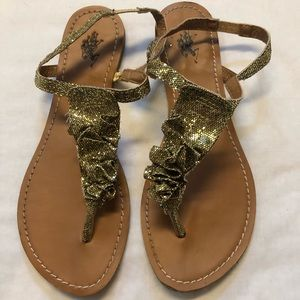 US POLO ASSN. sandals diamond size 8 shoes